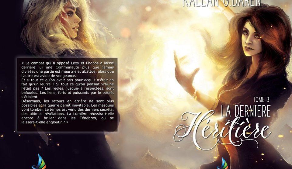 20 questions à une auteure : Kallan Daren